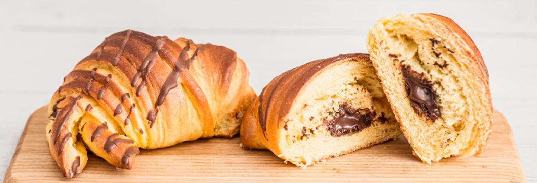 Croissant Brioche chocolate