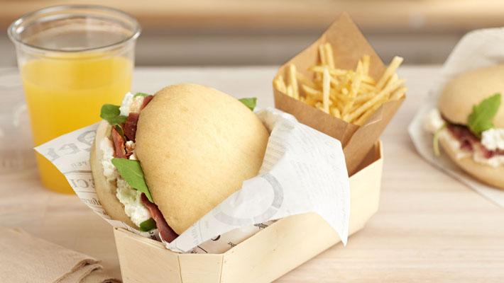 Burger Mollete