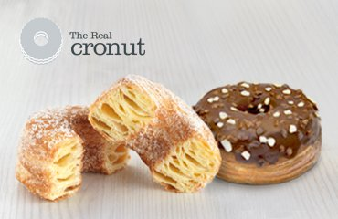 Cronut con chocolate