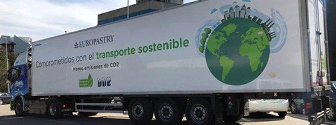 Europastry apuesta por camiones de gas natural para mejorar la calidad del aire