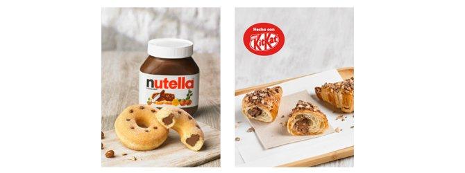 Europastry apuesta por nuevos cobrandings con marcas líderes como Nutella® y KitKat