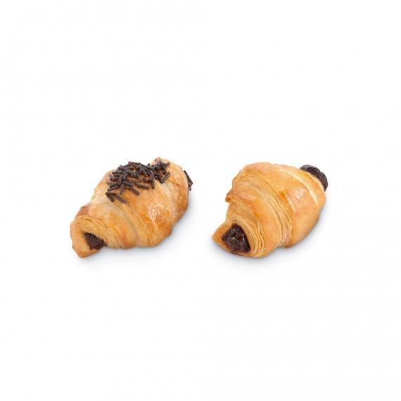 Mini Croissant de chocolate