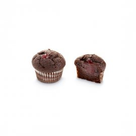 Micro Muffin Fresa y chocolate