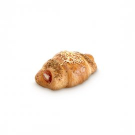 Croissant de Jamón y Queso Fácil