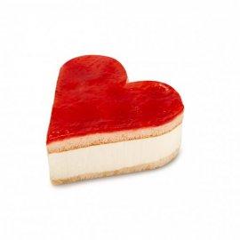 Tartaleta Corazón sabor cheesecake