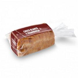 Pan de Molde Choco Blanco y Frambuesas (pack)