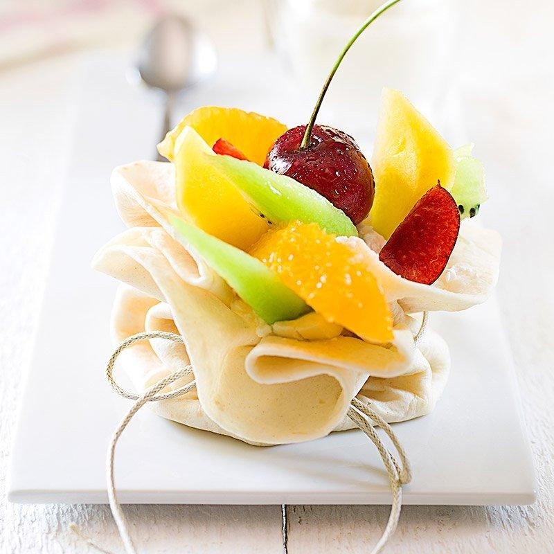 Nido de frutas