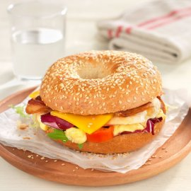 Chicken Bagel